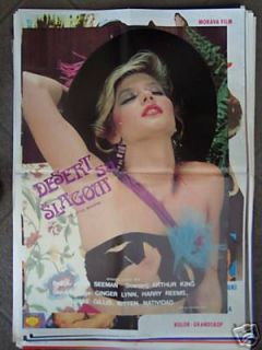 Ten Little Maidens Ginger Lynn YUGO Movie Poster 1985
