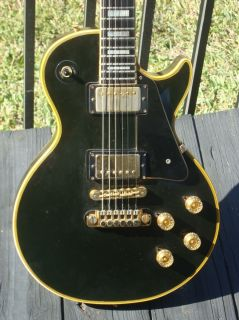 1973 Gibson Les Paul Custom Guitar