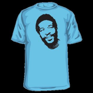 Marvin Gaye T Shirt Funk Soul Vintage RARE Rap Hip Hop