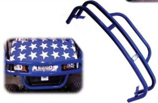 EZGO TXT Golf Cart USA Made Blue Brush Guard