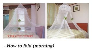 White Canopy Mosquito Net Princess Mosquito Net