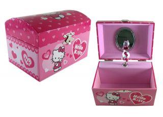Kitty Jewelry Box Girls Keepsake Box Hello Kitty Jewlery Music Box