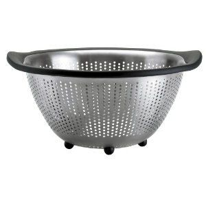 OXO Good Grips Steel Colander Enamel Kitchen Tool Mixing Bowl Nonslip