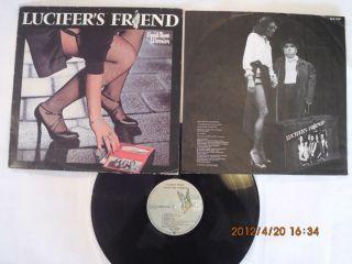 Lucifers Friend Good Time Warrior German LP Vinyl