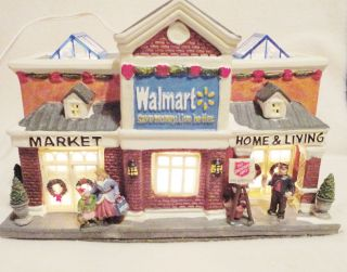 Every Christmas Village Needs This Holiday Time Walmart Super Center