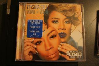 Woman to Woman PA by Keyshia Cole CD Nov 2012 Geffen