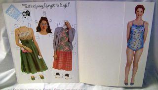 Gilda Radner Paper Dolls Book Mint 1979 Saturday Night Live 1st Print