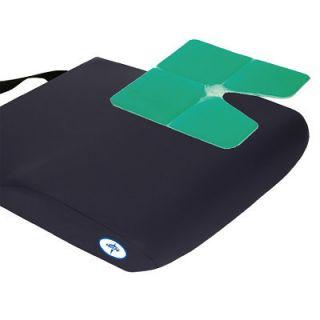 Medline Antithrust Gel Wheelchair Seat Cushion 20x16