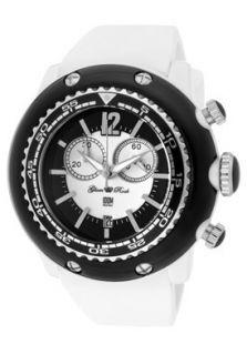 Glam Rock Watch GD1106 Womens Miami Beach Chrono White Black Dial