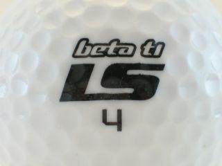 Beta TI LS Logo Golf Ball 4207