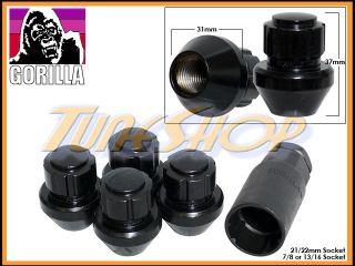 Lock Gorilla Stock OE Factory Wheels Lug Nuts 14x1 5 M14 1 5 Rims