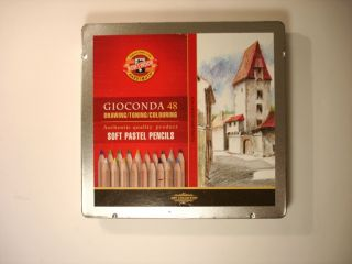 Koh I Noor Gioconda Soft Pastel Color Pencil Sets of 48 Colors