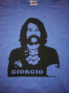 Giorgio Moroder T Shirt Italo Disco Electronic Bubblegum Donna Summers