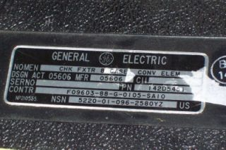 General Electric Profile Gauge Gov Surplus Use Unknown Original Case