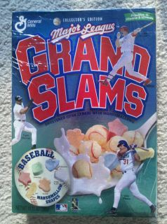 General Mills Major League Grand Slams Baseball Box Unopened 1998
