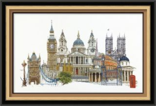 Thea Gouverneur Counted Cross Stitch Kit London Sale 470