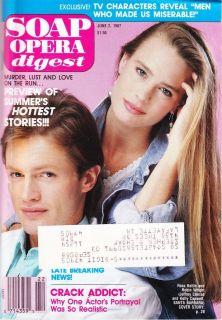 Soap Opera Digest June 2 1987 Ross Kettle Robin Wright Santa Barbara