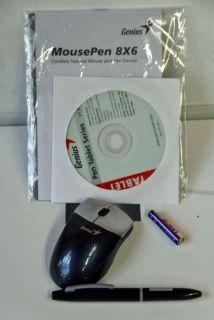 Genius Mousepen 8x6 Mouse Tablet and Pen Set