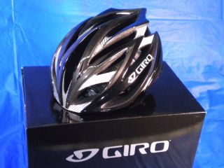 2011 Giro Ionos Cycling Helmet Black Charcoal Large