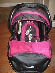 New Graco Nautilus Pink Brown Car Seat Cover Replacement