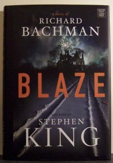 Blaze by Richard Bachman Large Print Book Stephen King 1602850615