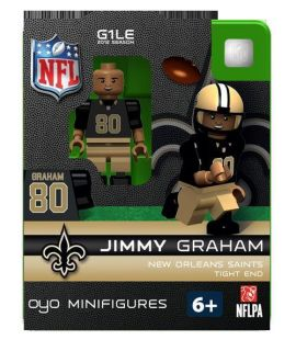 Jimmy Graham Oyo Mini Fig Figure Lego Compatible New Orleans Saints