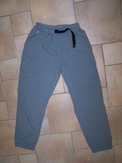 Gramicci Qwik Dry Cotton Hiking Pants Womens Medium Light Blue New