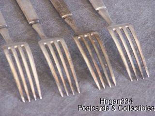 Vintage Simeon L George H Rogers Company 12 Forks