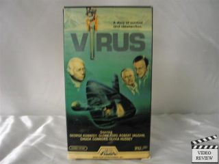 Virus VHS George Kennedy Glenn Ford Robert Vaughn