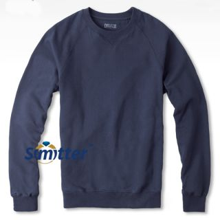 Mens Big Size Warm Round Neck Sweater Cashmere Long Sleeves 5 Col