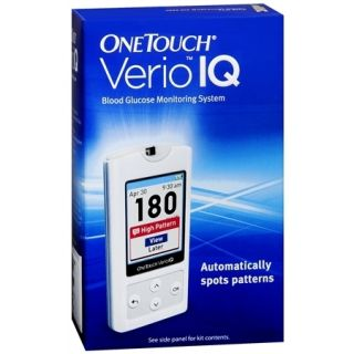 One Touch Verio IQ Blood Glucose Meter System New