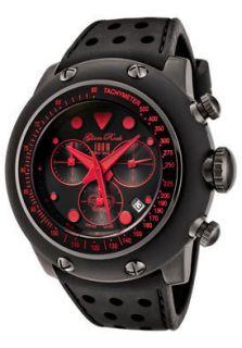 Glam Rock Watch GR90110 Race Track Chronograph Black Dial Black