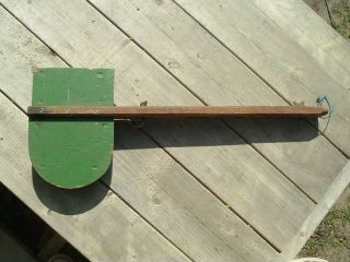 VTG TRAILCRAFT INC GLASCO KANSAS CANOE MOTOR MOUNT WOOD BOAT OLD TOWN