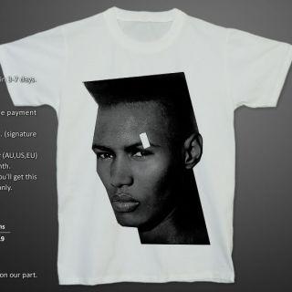 Grace Jones Living My Life 90s Reggae Dance T Shirt S