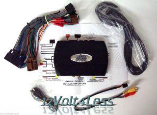 GMX550 GM Navigation Override iPod and DVD GM Unlocks DVD iPod