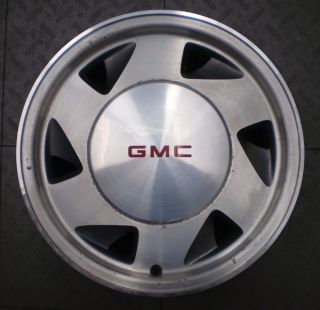 5029 GMC Sonoma S15 Jimmy 4x2 15 Factory OE Alloy Wheels Rims 4
