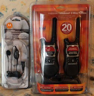 Motorola Talkabout EM1000R FRS GMRS Radios