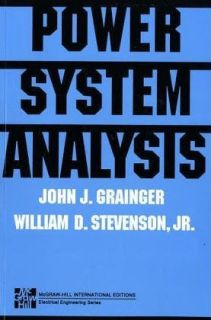 Power Systems Analysis by  International Edition