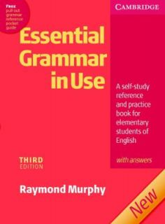 Essential Grammar in Use with Answers A Self Study Reference and