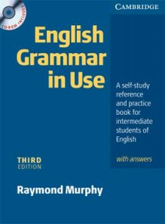 English Grammar In Use with Answers and CD ROM A Self study Reference