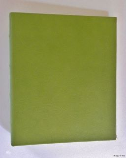 New Graphic Image Acid Free Archival Kiwi Green Brights Leather 72