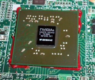 DIY Dell XPS M1530 M1330 Motherboard GPU Graphic Repair