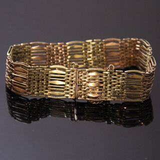 Vintage Russian Gold Bracelet