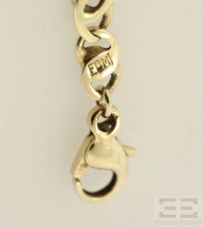 Designer 14k Yellow Gold Chain Bracelet