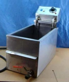 GOLD MEDAL PRODUCTS SMALL FRY DOUBLE DEEP FRYER 8048 220 VOLT 3000