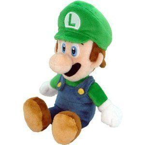Global Holdings Super Mario Plush Doll Series 8 Luigi