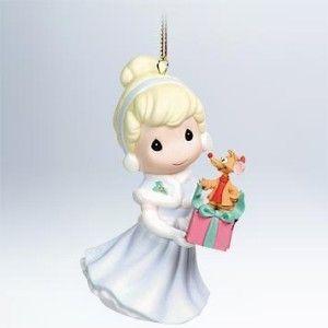 Hallmark 2011 Cinderella Precious Moments Walt Disney Christmas