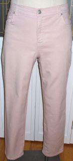 Gloria Vanderbilt Pink Jeans 12 Short 28 Inseam Stretch Pants Tapered