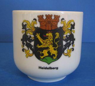 Heidelberg Heraldry Coat Arms Schirnding Germany Mug