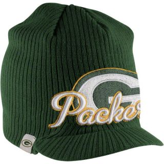 Green Bay Packers Green New Era Retro Viza Knit Hat